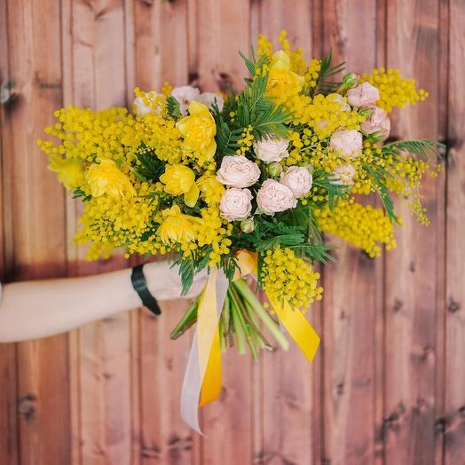 "Букет ""Весеннее чувство"": букеты цветов на заказ Flowwow"
