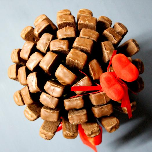 Сердце в шоколаде