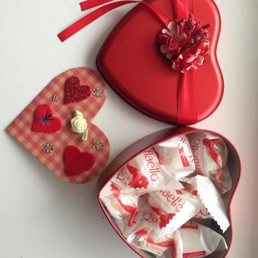 Сладкая Валентинка 3: букеты цветов на заказ Flowwow