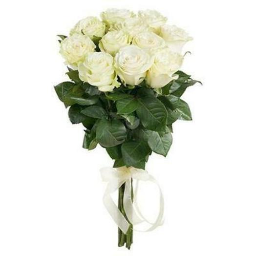 Роза белая: букеты цветов на заказ Flowwow