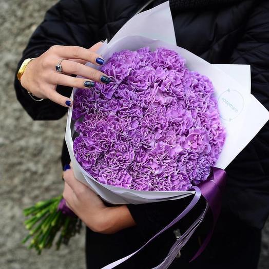 Лунный Диантус: букеты цветов на заказ Flowwow