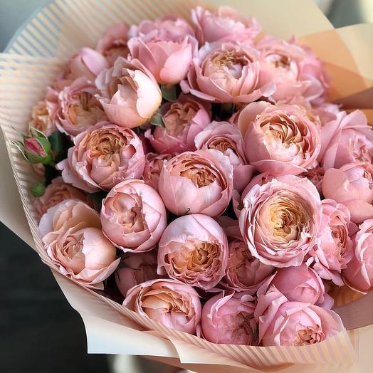 Розовый персик: букеты цветов на заказ Flowwow