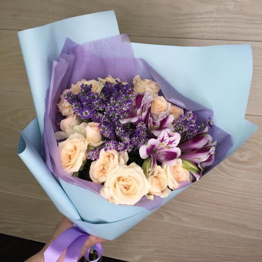 Букет 1867: букеты цветов на заказ Flowwow