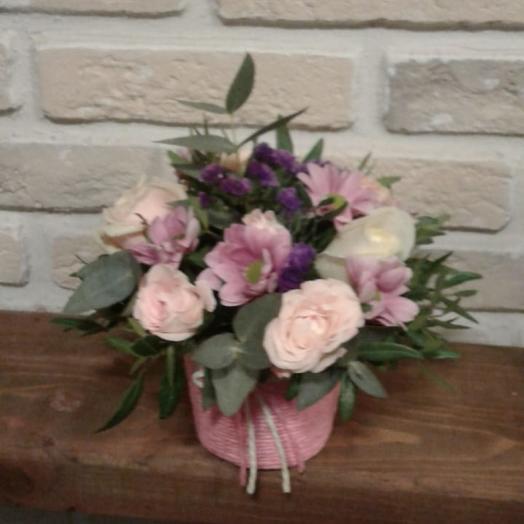Розовая дымка: букеты цветов на заказ Flowwow