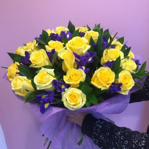 Золотой ключик: букеты цветов на заказ Flowwow