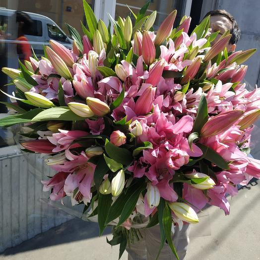 21 Лилия Микс: букеты цветов на заказ Flowwow