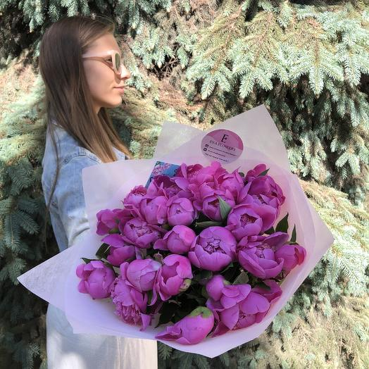 Малиновые ароматные: букеты цветов на заказ Flowwow