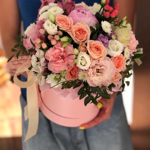 Шляпка Наслаждение: букеты цветов на заказ Flowwow