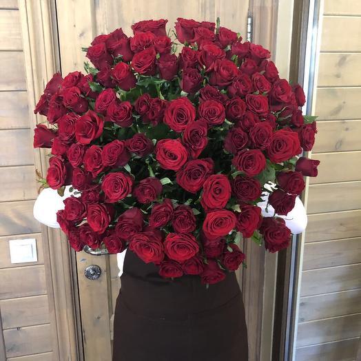 """Большой букет из роз """"101 роза"""""""
