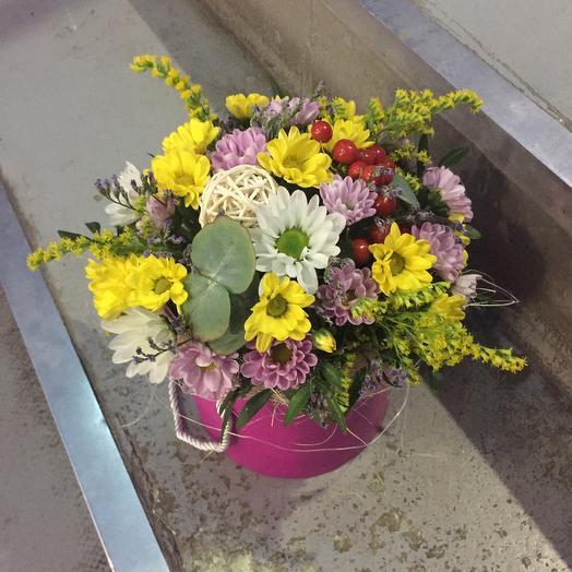 Мини бокс: букеты цветов на заказ Flowwow