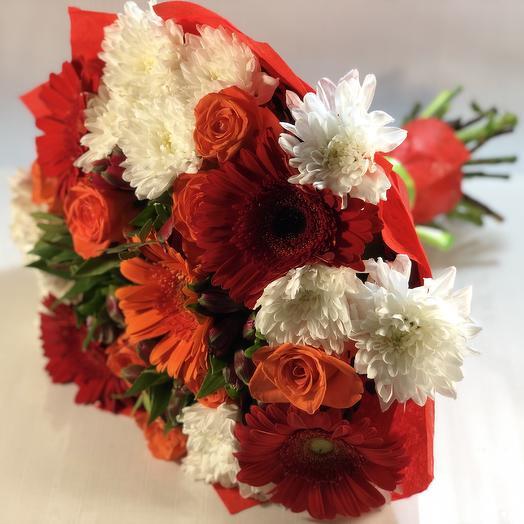 Осеннее вдохновение: букеты цветов на заказ Flowwow