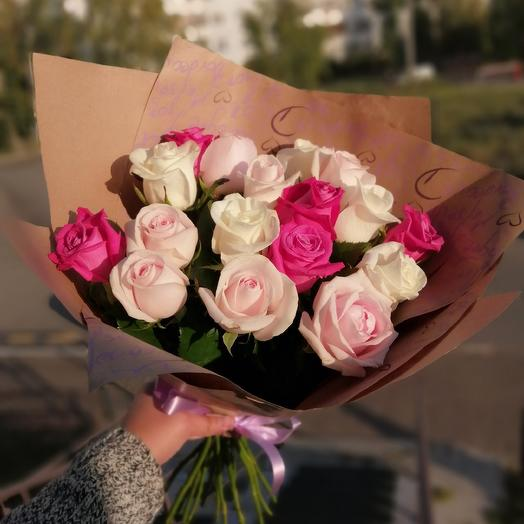 Pink Paradise: flowers to order Flowwow