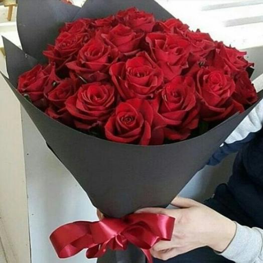 Букет Бордо: букеты цветов на заказ Flowwow