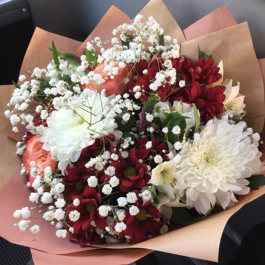 Bouquet 1: букеты цветов на заказ Flowwow