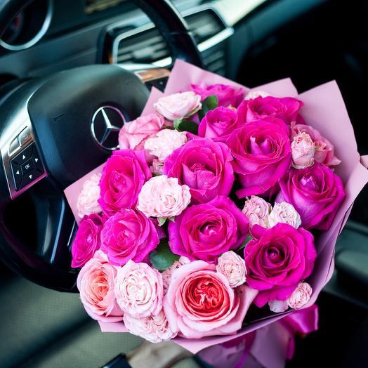 «История любви»: букеты цветов на заказ Flowwow