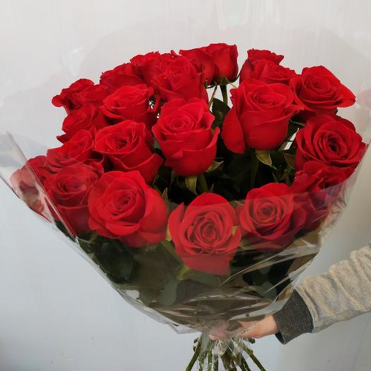 Роза 70 см: букеты цветов на заказ Flowwow