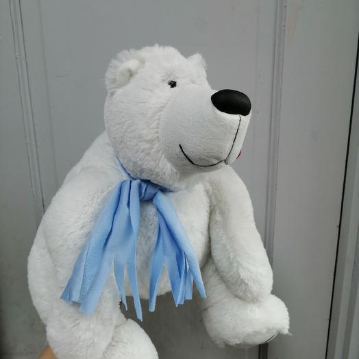 Белый медведь: букеты цветов на заказ Flowwow