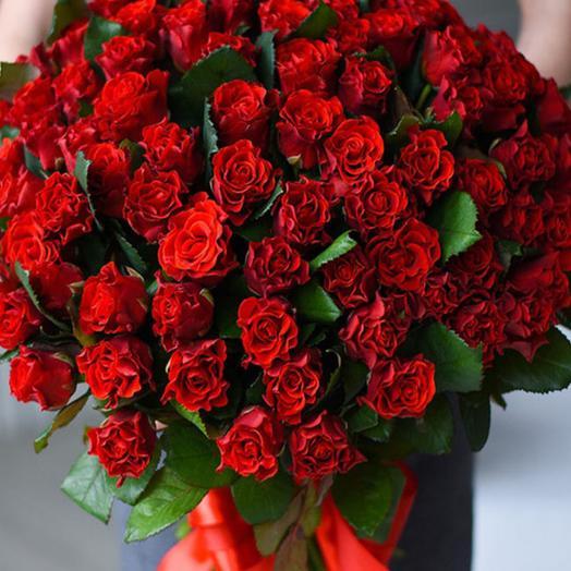 Роза Эль Торо 60 см 51 шт