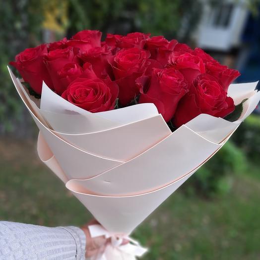 Букет роз 25 шт