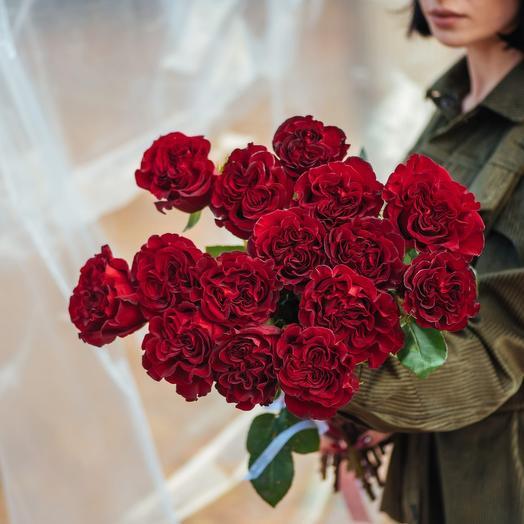Букет из Эквадорских роз Хартс