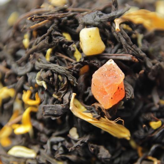 Чёрный чай Айва с персиком