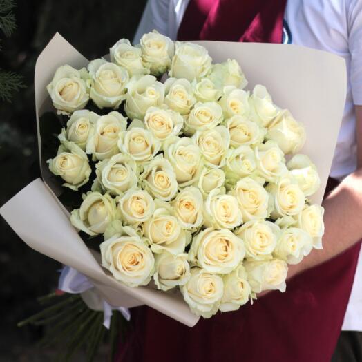 """51 роза """"Аваланж"""""""