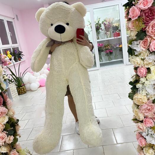 Игрушка Белый Медведь 140см
