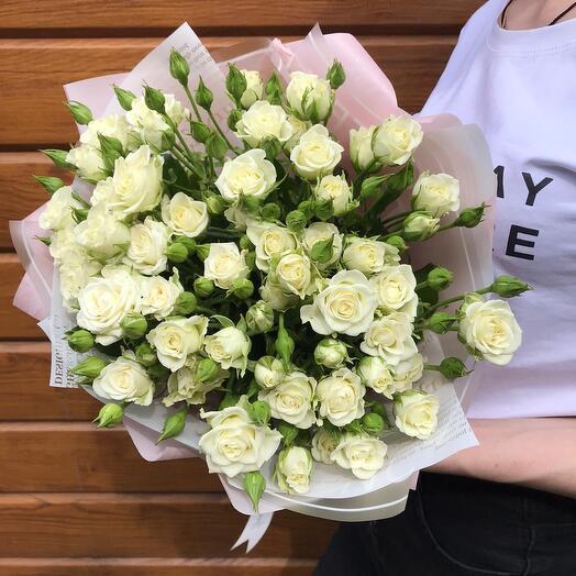 Flowers Lovers - 15 кустовых роз