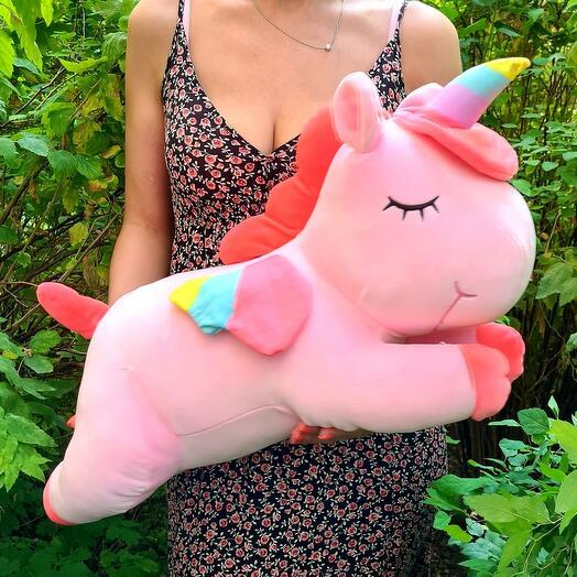 Милый розовый Единорожек