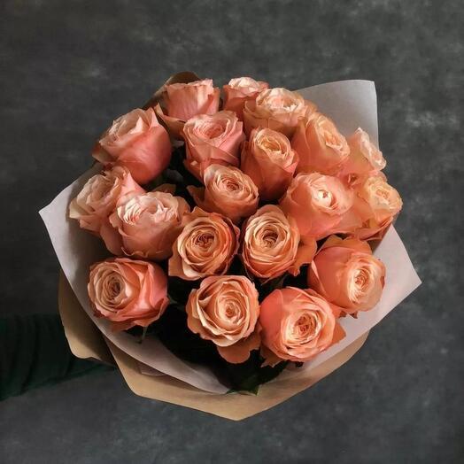 Букет из 15 Эквадорских роз Kahala