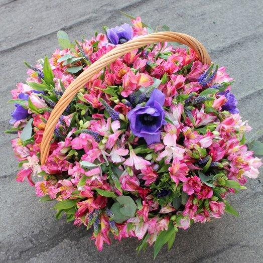 Корзина Весна Пробуждение: букеты цветов на заказ Flowwow
