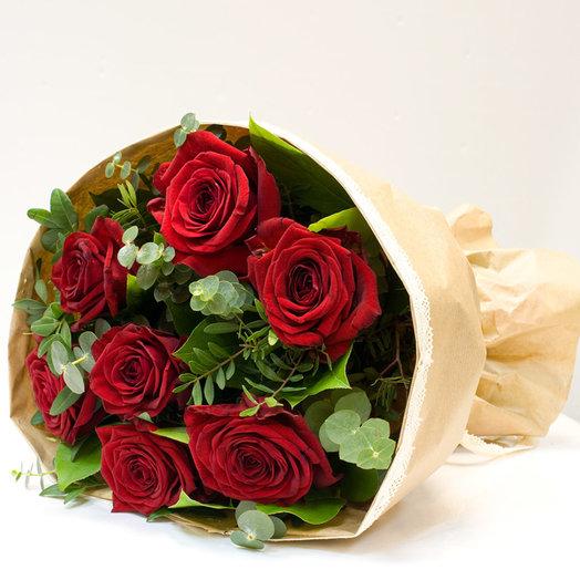 Букет из роз Леди: букеты цветов на заказ Flowwow
