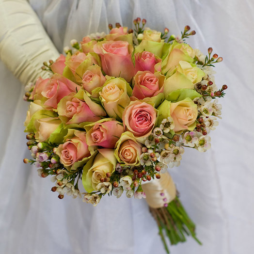 Букет невесты Mirac e: букеты цветов на заказ Flowwow