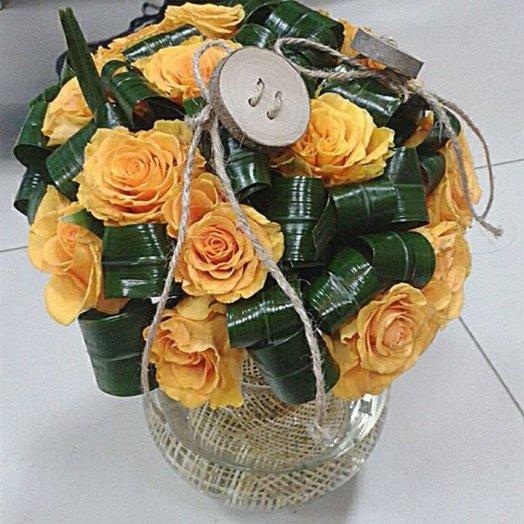 Букет 130: букеты цветов на заказ Flowwow