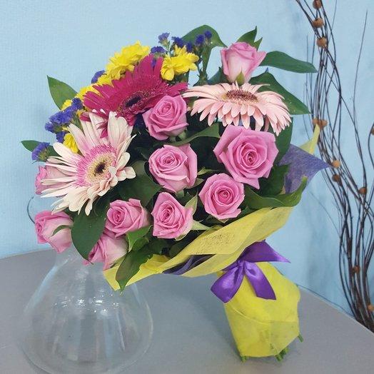 Букет Солнечные искры: букеты цветов на заказ Flowwow