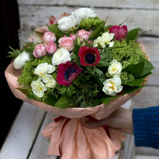Маковый десерт: букеты цветов на заказ Flowwow