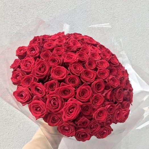101 страстная роза