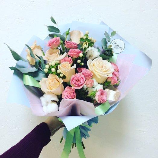 Нежный букет!: букеты цветов на заказ Flowwow