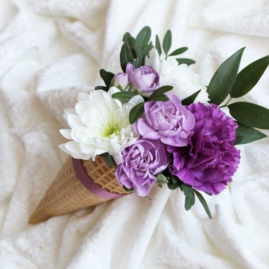 Черничное Морожное: букеты цветов на заказ Flowwow