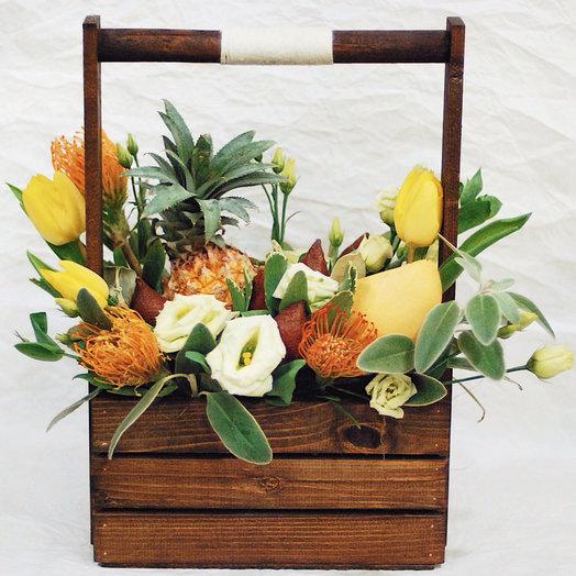 Экзотической микс: букеты цветов на заказ Flowwow