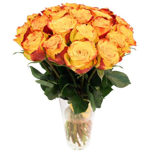 Букет из 25 роз.