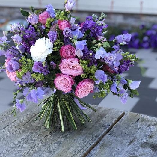 Лавандовый вихрь: букеты цветов на заказ Flowwow