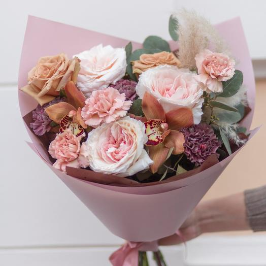 Букет карамель: букеты цветов на заказ Flowwow