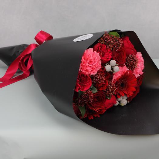 Яркая мгла: букеты цветов на заказ Flowwow