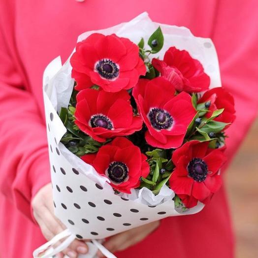 Анемоны: букеты цветов на заказ Flowwow