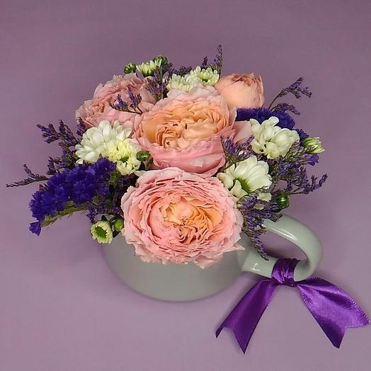 Розовый мусс: букеты цветов на заказ Flowwow