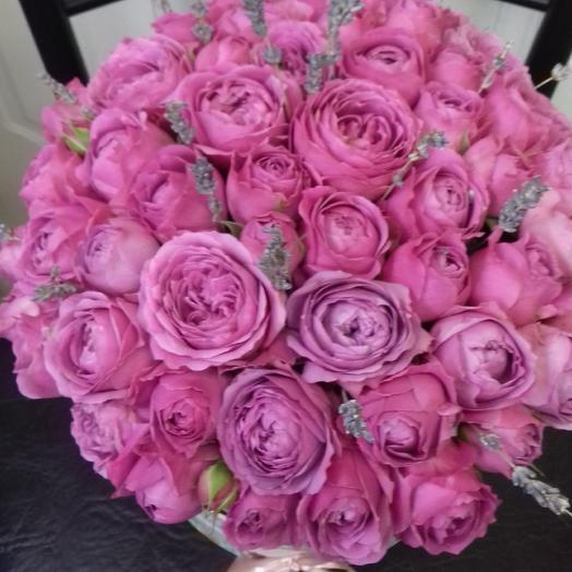 Лавандовый сад: букеты цветов на заказ Flowwow