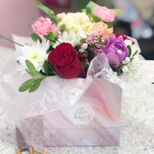 Композиция Ласковый Май: букеты цветов на заказ Flowwow