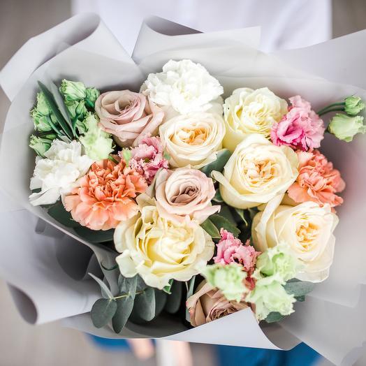 Букет комплимент 9: букеты цветов на заказ Flowwow