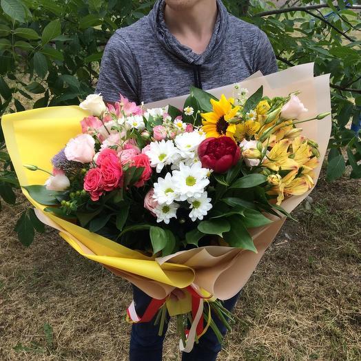 Краски лета: букеты цветов на заказ Flowwow
